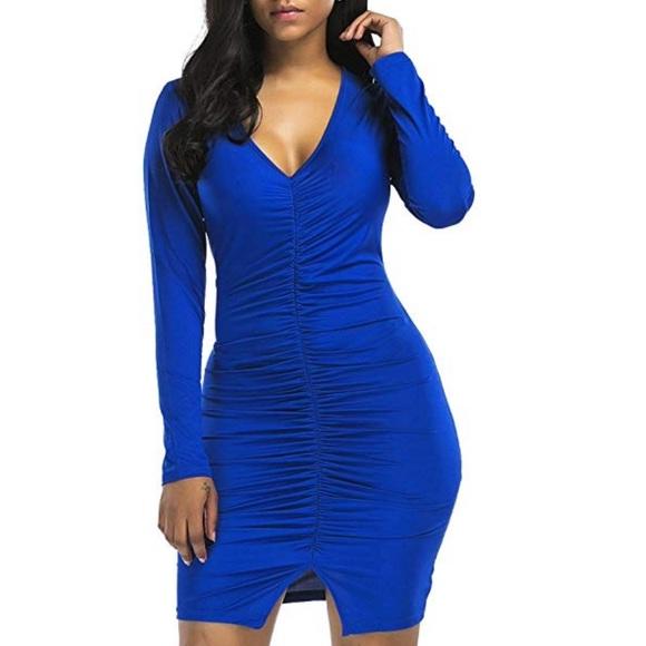 Plus Size The Briella Curvy Ruched Bodycon Dress Boutique